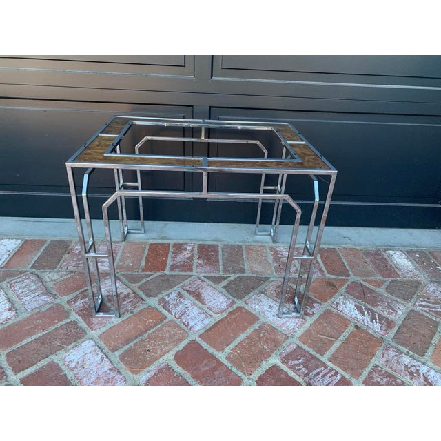 1950s Vintage Milo Baughman Side Table For Sale - Image 5 of 5