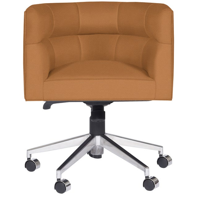 Transitional Casa Cosima Perry Desk Chair, Brisa Aztec For Sale - Image 3 of 3