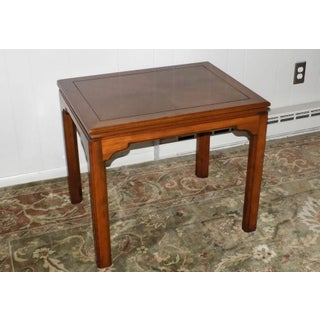 Campaign Ethan Allen Solid Cherry Canova Collection End Table Preview