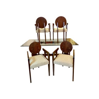 André Sornay, Lyon, France Chairs - Set of 4 For Sale