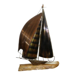 Mario Jason Sailboat Sculpture