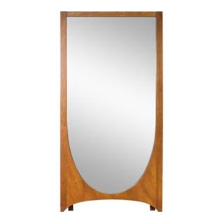 1960s Vintage Broyhill Mid-Century Modern Brasilia Mirror For Sale