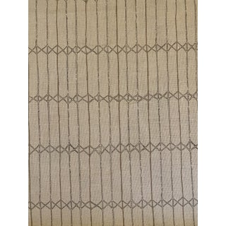 """Clay McLaurin Belgian Linen Fabric """"Twine"""" in Sand Color Way 4 Yards For Sale"""