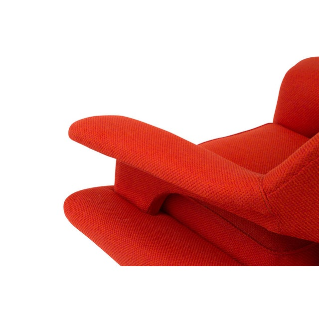 Sculptural Large Mid-Century Italian Lounge Chairs - a Pair For Sale - Image 9 of 10
