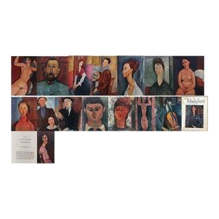 Modigliani Portfolio of Fine Lithographic Prints, 1953 - Set of 15 For Sale