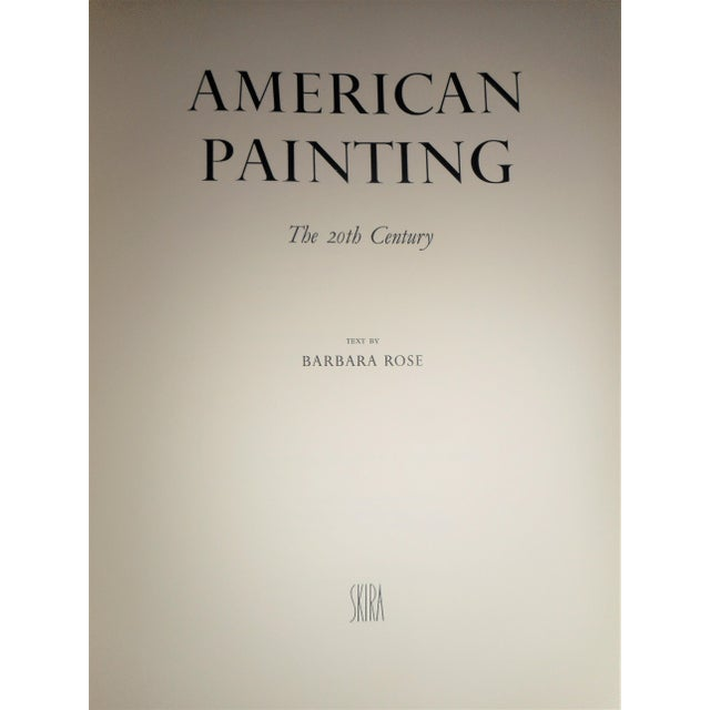 Title: AMERICAN PAINTING THE TWENTIETH CENTURY by Barbara Rose Publisher: SKIRA Publication Date: 1995 Binding: Hardcover...