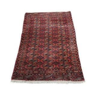 Mid-20th Century Persian Bohkara Sienna Wool Rug