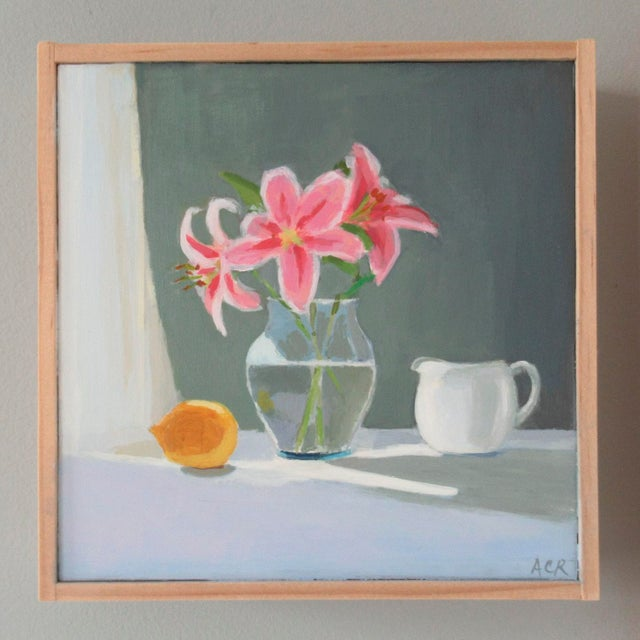 Anne Carrozza Remick Lilies, Lemon and Creamer by Anne Carrozza Remick For Sale - Image 4 of 6
