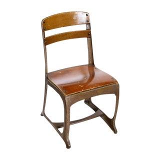 Vintage Children's School Chair
