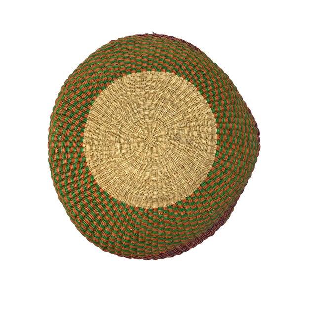 Large African Bolga Ghana Market Basket For Sale In New York - Image 6 of 7