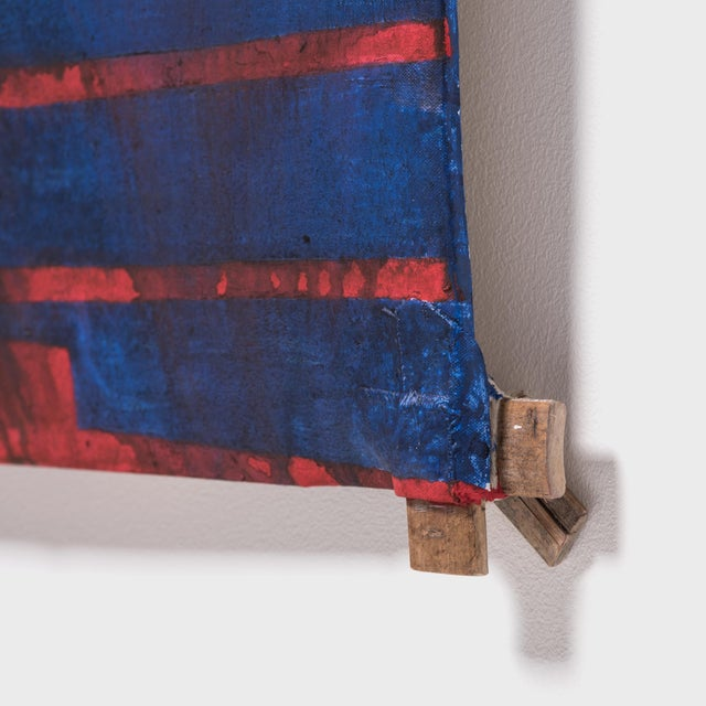 """""""Blu"""" Kite by Michael Thompson For Sale In Chicago - Image 6 of 7"""