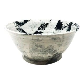 Studio Pottery Decorative Bowl by Mieke Juta, Netherlands For Sale