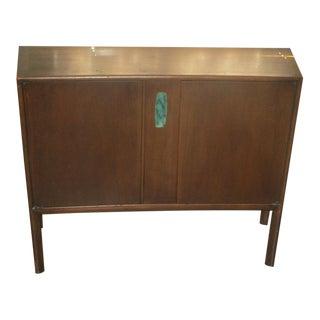 Ray Sabota for John Stuart Walnut Console Cabinet For Sale
