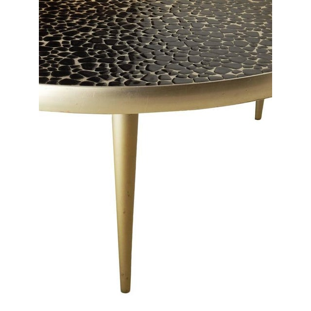1950s Mid-Century Mosaic Tile Coffee Table For Sale - Image 5 of 8