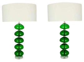 Image of Emerald Table Lamps