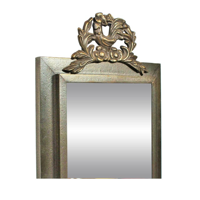 Mid-Century Rooster Design Mirror - Image 2 of 3