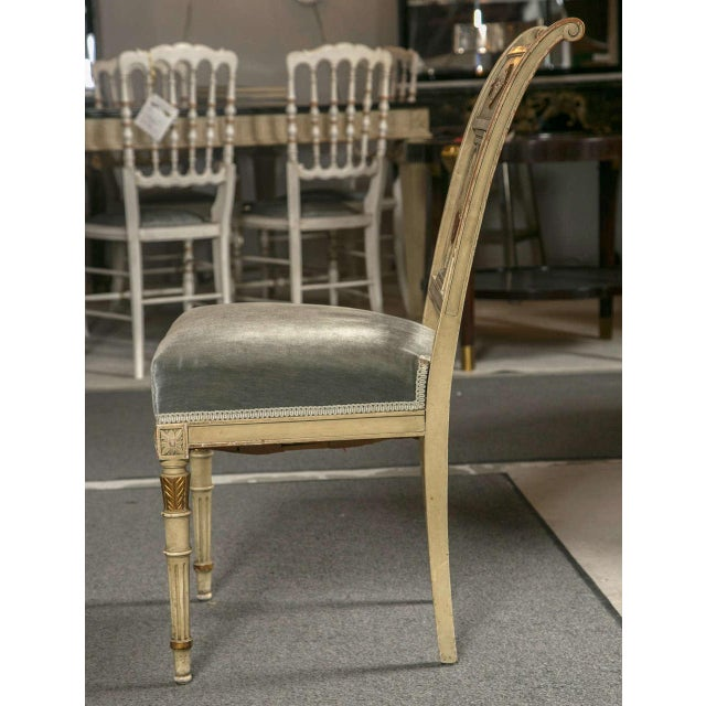 Hollywood Regency Side Chairs by Jansen - Set of 6 For Sale - Image 7 of 9
