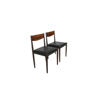 Mid Century Danish Modern Chairs by Frem Rojle For Sale