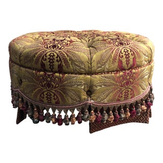 Taylor King Penny Style Ottoman For Sale
