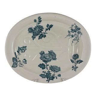 Josiah Wedgwood Aesthetic Well & Tree Chrysanthemum Platter For Sale