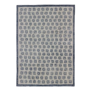 Transitional Indian Rug - 9′ × 12′ For Sale