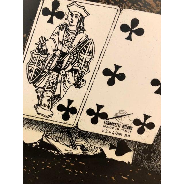 """2000 - 2009 """"Citta' DI Carte"""" Folding Screen by Piero Fornasetti For Sale - Image 5 of 6"""
