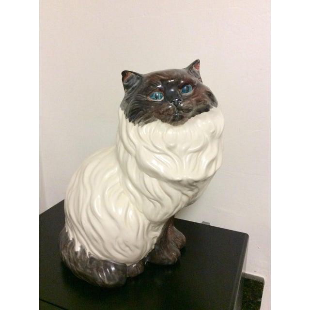 Antique Porcelain Cat - Image 2 of 9