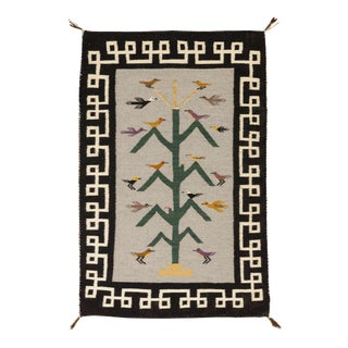 """Navajo Pictorial Rug, 2'3"""" X 3'5"""" For Sale"""