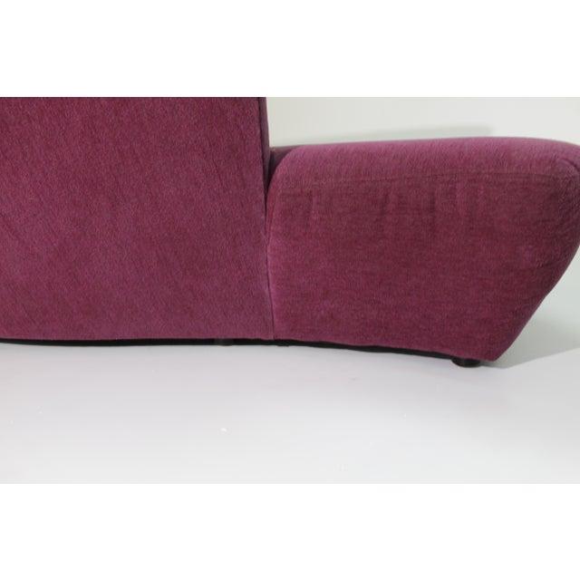 "1980s 1980s Vintage Vladimir Kagan for Preview ""Bilbao Sofa"" For Sale - Image 5 of 9"