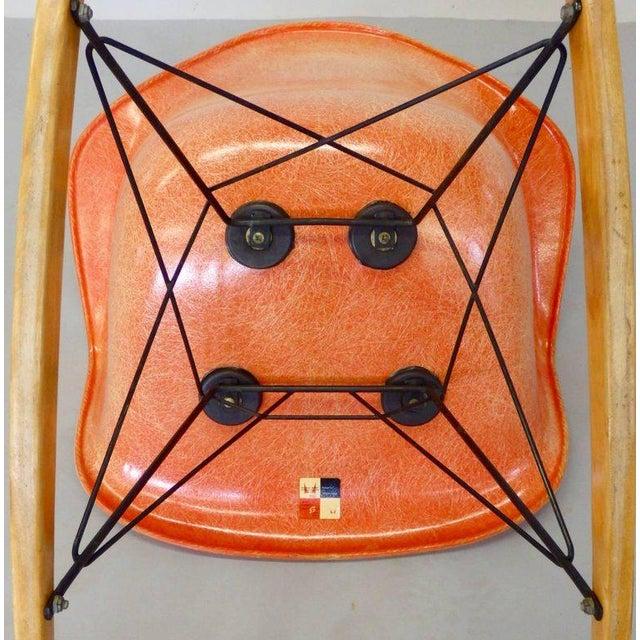 Best Eames Rar Herman Miller Zenith Rope Edge Rocking Chair For Sale In Detroit - Image 6 of 8