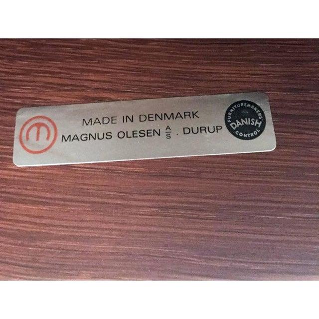 1960s John Mortensen for Magnus Olesen Model 4521 Lounge Chair For Sale - Image 9 of 10