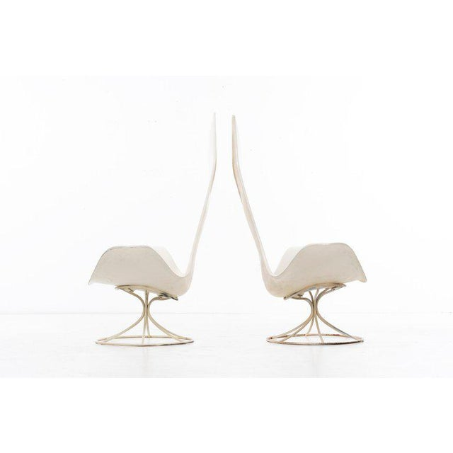 Estelle and Erwine Laverne Pair of Tulip Chairs - A Pair For Sale In Chicago - Image 6 of 10