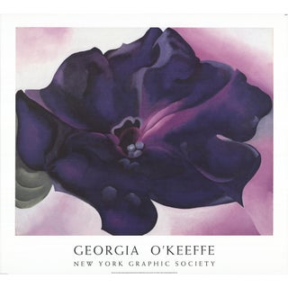 Georgia O'Keeffe - Petunia - 1991 For Sale