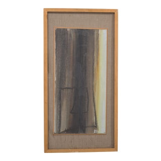 An Abstract Initialled Painting by Hans Richter 1961 For Sale