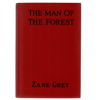 "1920 ""The Man of the Forest"" Collectible Book For Sale"