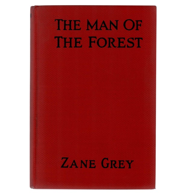 """1920 """"The Man of the Forest"""" Collectible Book For Sale"""