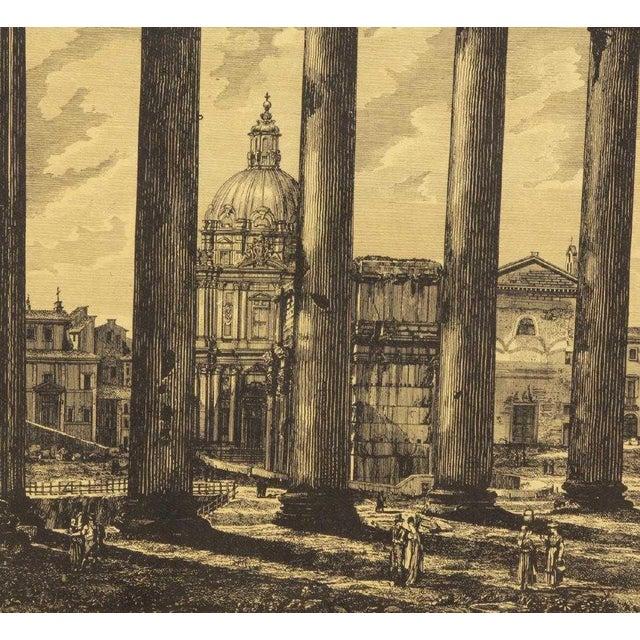 Early 20th Century Luigi Rossini (1790-1857) Roman Folio Etchings - Set of 2 For Sale - Image 5 of 7