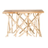 Image of Boho Chic Branch Console Table For Sale