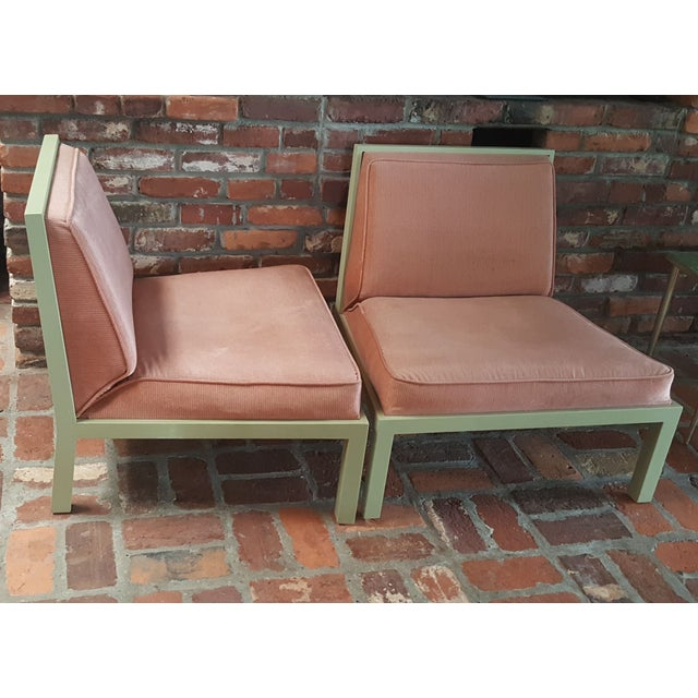 Michael Taylor for Baker Slipper Chairs - A Pair - Image 5 of 6