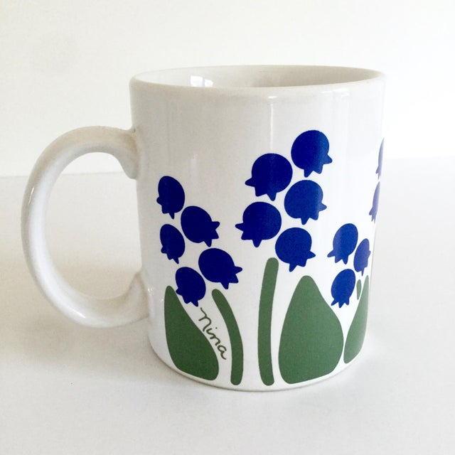 1983 Nina Lily of the Valley Coffee Mug For Sale - Image 9 of 9