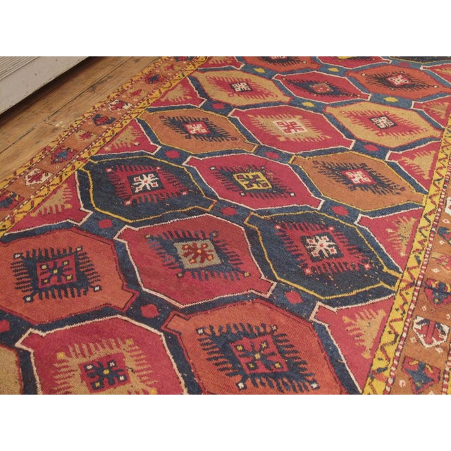 Traditional Konya Wide Runner For Sale - Image 3 of 8