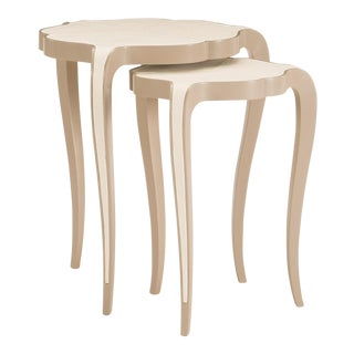 Modern Caracole Two of a Kind Nesting Tables - Set of 2 For Sale