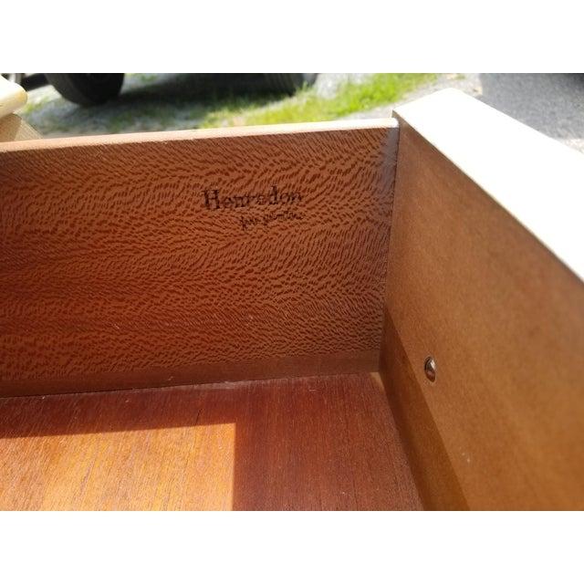Wood Henredon 2 Drawer Bombay Chest For Sale - Image 7 of 11