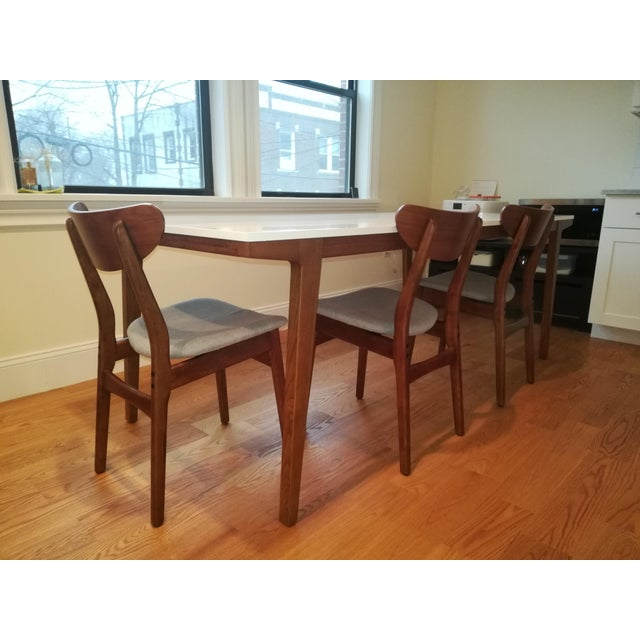 West Elm West Elm Modern Dining Table For Sale - Image 4 of 7