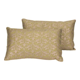 Fortuny Pillows - a Pair For Sale