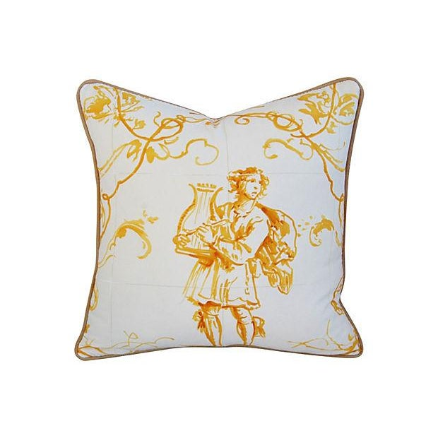 Custom French Pierre Frey Sintra Pillow - Image 1 of 4