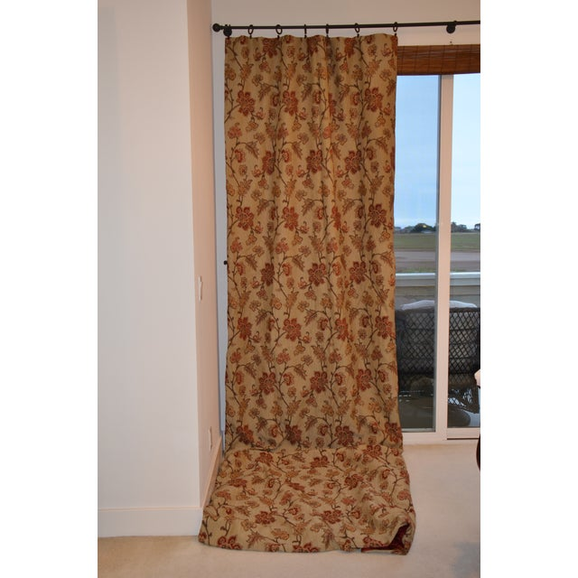 Fabric Custom Swag Scarf for Window For Sale - Image 7 of 9
