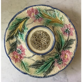 Late 19th Century Belgium Majolica Cake Stand Preview