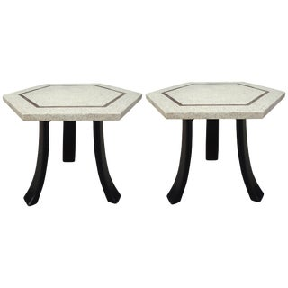 Mid-Century Harvey Probber Tulip Side Tables - a Pair For Sale
