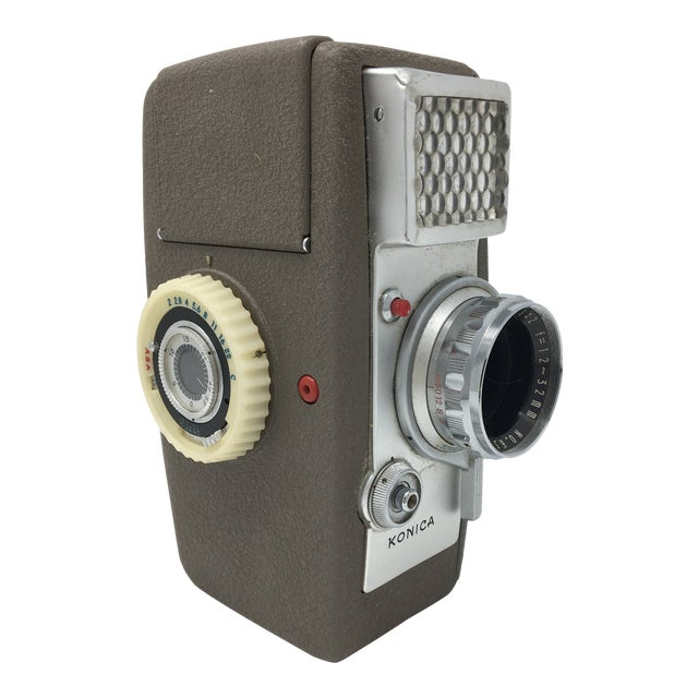 Vintage Konica Zoom S II 8mm Movie Camera For Sale
